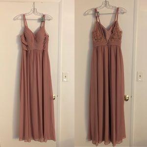 Azazie Dresses - Azazie Blake Dress Dusty Rose